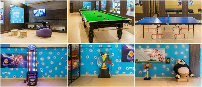 Indoor Games at Heiwa Heaven Resort