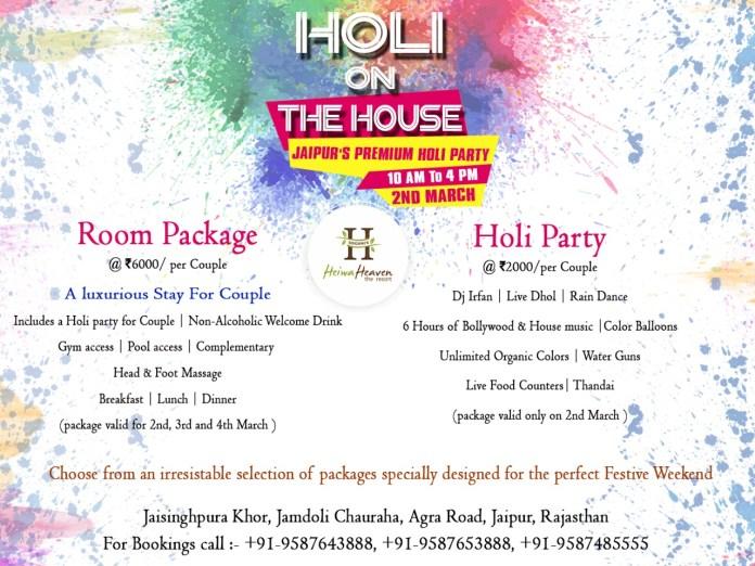Best Holi Party Venue in jaipur