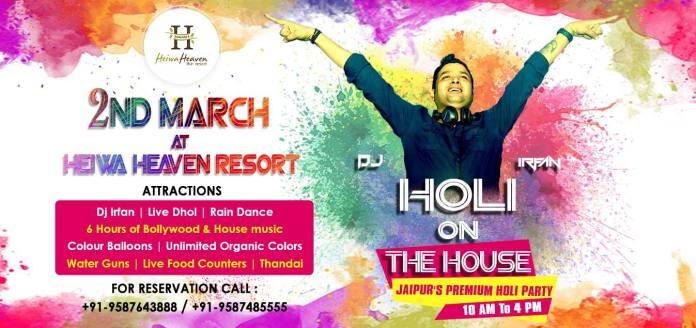Celebrate Holi in Jaipur